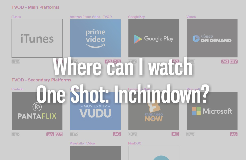 where to watch One Shot: Inchindown